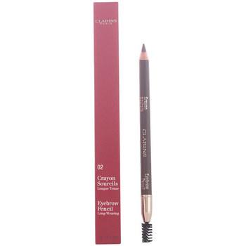Belleza Mujer Perfiladores cejas Clarins Crayon Sourcils 02-light Brown 1,3 Gr 1,3 g