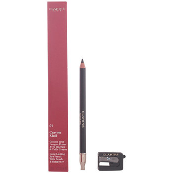 Belleza Mujer Lápiz de ojos Clarins Crayon Khôl 01-carbon Black 1,5 Gr 1,5 g