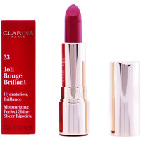 Belleza Mujer Pintalabios Clarins Joli Rouge Brillant 33-soft Plum 3,5 g