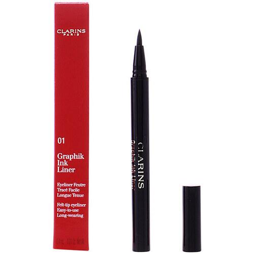 Belleza Mujer Lápiz de ojos Clarins Graphik Ink Liner 01  0,4 ml