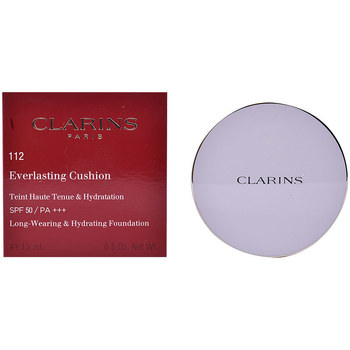 Belleza Mujer Base de maquillaje Clarins Everlasting Cushion Spf50 112-amber  13 ml