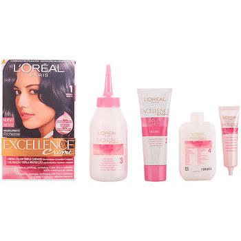 Belleza Tratamiento capilar L'oréal Excellence Creme Tinte 1 Negro 1 u