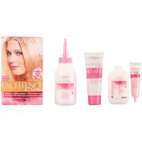 Belleza Tratamiento capilar L'oréal Excellence Creme Tinte 10 Rubio Muy Claro 1 u
