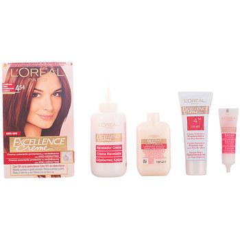 Belleza Mujer Tratamiento capilar L'oréal Excellence Creme Tinte 4,54 Castaño Caoba Cobrizo 1 u