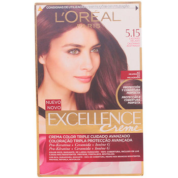 Belleza Tratamiento capilar L'oréal Excellence Creme Tinte 5,15-castaño Helado 1 u