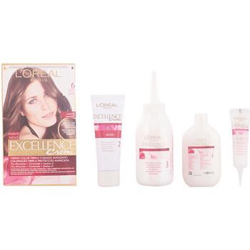 Belleza Tratamiento capilar L'oréal Excellence Creme Tinte 6 Rubio Oscuro 1 u