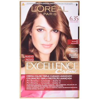 Belleza Tratamiento capilar L'oréal Excellence Creme 6,35-chocolate 1 u