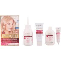 Belleza Mujer Tratamiento capilar L'oréal Excellence Creme Tinte 03 Rubio Ultra Claro Ceniza 1 u