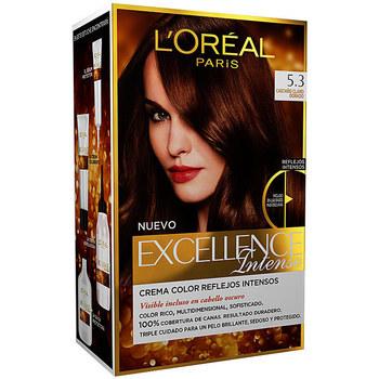 Belleza Tratamiento capilar L'oréal Excellence Intense Tinte 5,3 Castaño Claro Dorado 1 u