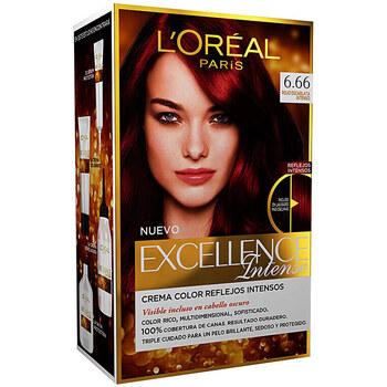 Belleza Mujer Tratamiento capilar L'oréal Excellence Intense Tinte 6,66 Rojo Escarlata Intenso 1 u