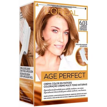 Belleza Tratamiento capilar L'oréal Excellence Age Perfect Tinte 6,03 Rubio Oscuro Radiante 1 u