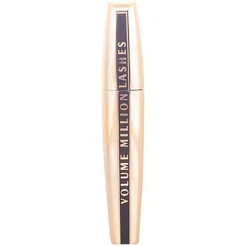 Belleza Mujer Máscaras de pestañas L'oréal Mascara Volume Million Lashes black  9 ml