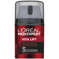 Belleza Hombre Hidratantes & nutritivos L'oréal Men Expert Vita-lift 5 Soin Anti-age  50 ml