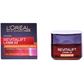Belleza Mujer Antiedad & antiarrugas L'oréal Revitalift Laser Crema Día Spf20