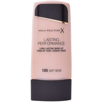 Belleza Mujer Base de maquillaje Max Factor Lasting Performance Touch Proof 105-soft Beige 35 ml