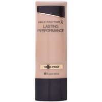 Belleza Mujer Base de maquillaje Max Factor Lasting Performance Touch Proof 111-deep Beige 35 ml