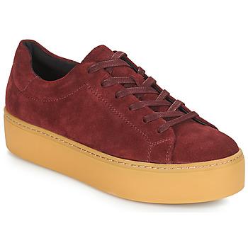 Zapatos Mujer Zapatillas bajas Vagabond JESSIE Burdeo