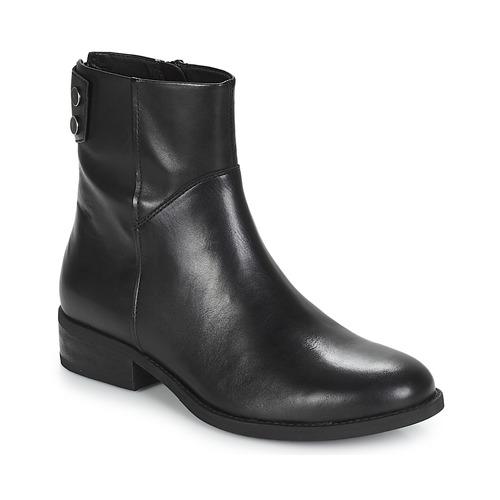 Casual salvaje Vagabond CARY Negro - Envío gratis Nueva promoción - Zapatos Botas de caña baja Mujer