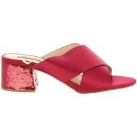 Zapatos Mujer Sandalias Chika 10 ANYA 02 Rojo