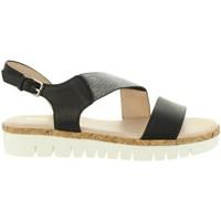 Zapatos Mujer Sandalias Chika 10 IDOIA 01 Negro