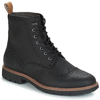 Zapatos Hombre Botas de caña baja Clarks BATCOMBE LORD Negro