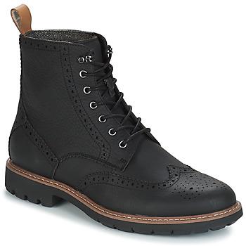 Zapatos Hombre Botas de caña baja Clarks BATCOMBE Negro
