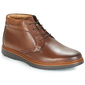 Zapatos Hombre Botas de caña baja Clarks UN Marrón