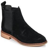 Zapatos Mujer Botas de caña baja Clarks CLARKDALE Negro