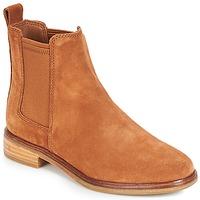 Zapatos Mujer Botas de caña baja Clarks CLARKDALE Camel