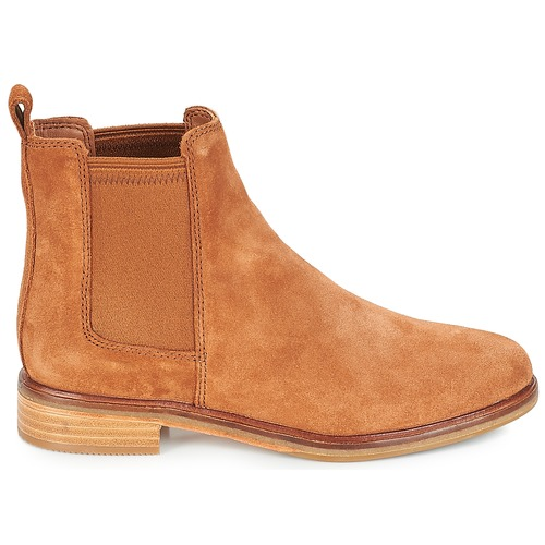 Clarks Botas Caña De Camel Clarkdale Zapatos Mujer Baja LVpMqSGUz