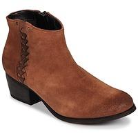 Zapatos Mujer Botines Clarks MAYPEARL Dark / Tan / Aterciopleado