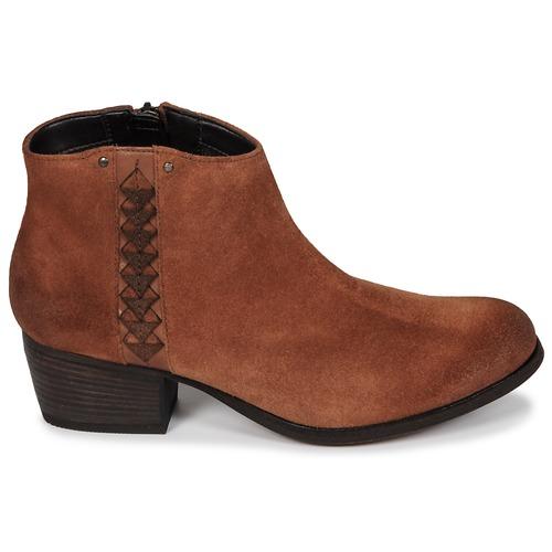 DarkTan Zapatos Aterciopleado Mujer Maypearl Clarks Botines wPluXZiTOk