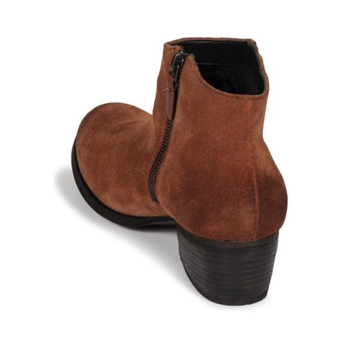 Mujer Botines Clarks Aterciopleado Zapatos Maypearl DarkTan QrCWxBdoe