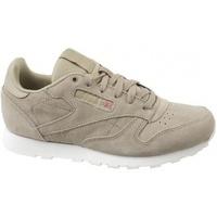 Zapatos Niños Zapatillas bajas Reebok Sport Cl Leather Mcc beige