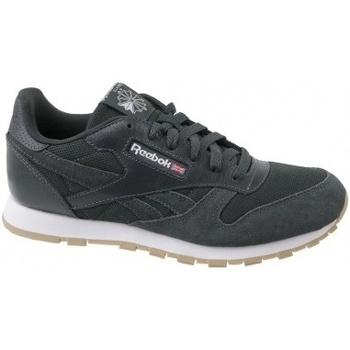Zapatos Niños Zapatillas bajas Reebok Sport Cl Leather ESTL gris