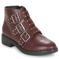 Zapatos Mujer Botas de caña baja Coolway CHIP Burdeo