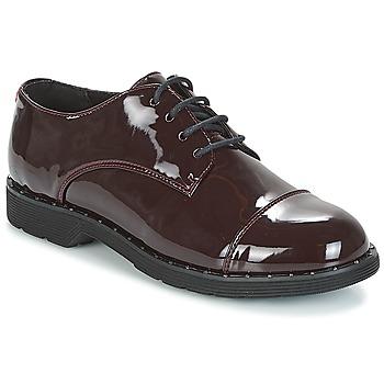 Zapatos Mujer Derbie Coolway PARIS Burdeo / Barniz