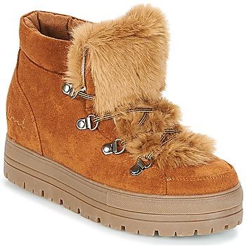 1817401f Zapatos Mujer Botas de caña baja Coolway OSLO Camel