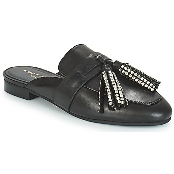 Zapatos Mujer Zuecos (Mules) KG by Kurt Geiger KAISER CRYSTAL Negro