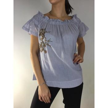 textil Mujer Tops / Blusas Kocca Blusa CHAANG Azul