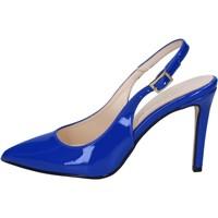 Zapatos Mujer Sandalias Olga Rubini sandalias azul charol BY285 azul