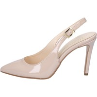 Zapatos Mujer Sandalias Olga Rubini sandalias beige charol BY286 beige