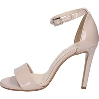 Zapatos Mujer Sandalias Olga Rubini sandalias beige charol BY289 beige