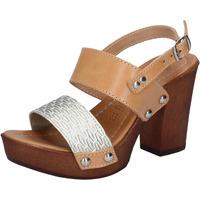 Zapatos Mujer Sandalias Made In Italia BY516 marrón