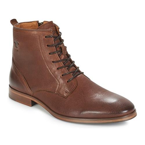 Zapatos Hombre Botas de caña baja Kost NICHE 1 Cognac