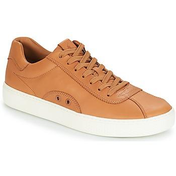 Zapatos Hombre Zapatillas bajas Polo Ralph Lauren COURT 100 Marrón