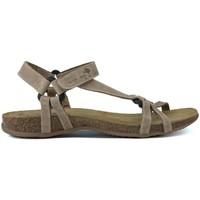 Zapatos Mujer Sandalias Interbios S  TRIBERMUT BEIGE