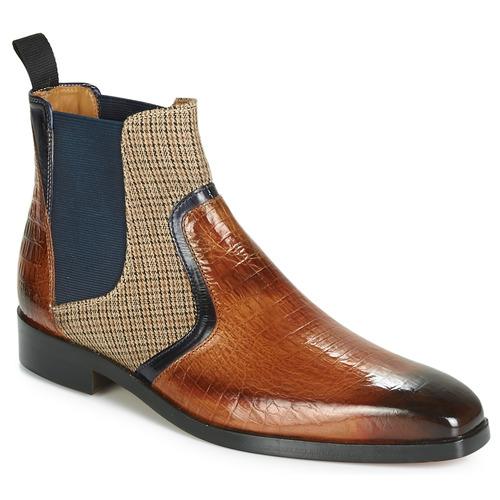Zapatos Hombre Botas de caña baja Melvin & Hamilton LEWIS 26 Marrón / Marino