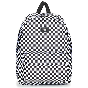 Bolsos Mochila Vans OLD SKOOL II BACKPACK Negro / Blanco