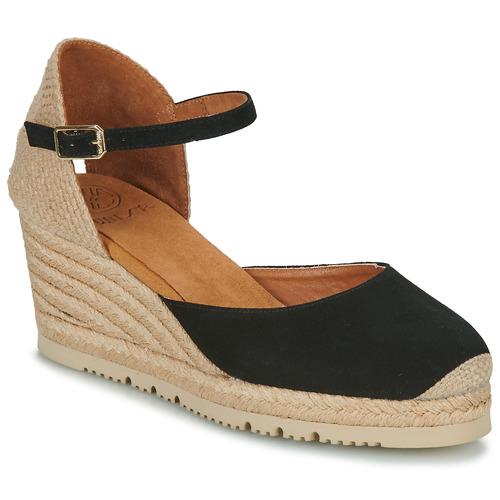 Zapatos Mujer Sandalias Unisa CACERES Negro